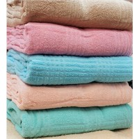 ID. Selimut Handuk Polos Honey uk 160x200 cm / High Quality Towel
