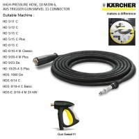 Karcher Selang High Pressure 10M DN6 250bar SWIVEL 11 Connector F