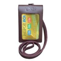 Id Card Double Magnet Plus Tali Kulit Direktorat Jenderal Pajak B