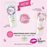 EVERWHITE - Instant Brightening Body Cream / Ever White Pink