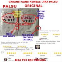 Garansi Snail White Masker / Cream Produk Masker Pemutih Wajah