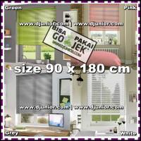 KRIS - VENETIAN BLINDS 90x180cm - BLIND ROLLER PVC 25mm TIRAI KER