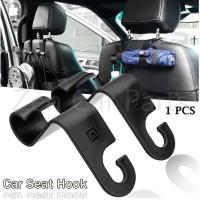 Car Headrest Hook Hanger Holder / Gantungan Barang Mobil Multifungsi