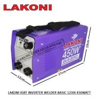 Lakoni Mesin Las Listrik 120A IGBT Inverter Welder 450 Watt 450W