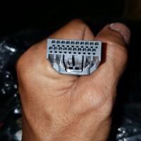 kabel soket speedometer asli ori pin full suzuki new satria f fu