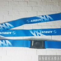 Lanyard Id Card Airbus Motif Biru