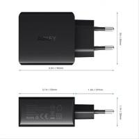 AUKEY PA U42 Dual USB Port AiPower Wall Charger EU Plug