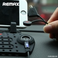 Remax Super Flexible Car Holder with Micro USB Lightning Charger HP