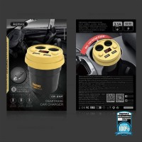 Remax Car Charger Demitasse CR-2XP Car Charger Remax CR-2XP