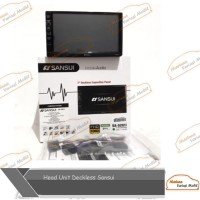 Head Unit Double Din Deckless Sansui Mobil Juke