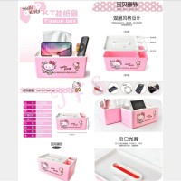 Box Kotak Tempat Tissue Remote Hello Kitty