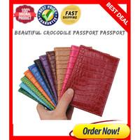 Travel id holder - dompet pasport / pasport organizer paspor Crocodile