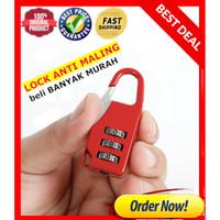 Gembok Koper / Tas Koper Travel Lock padlock / Gembok TAS anti maling