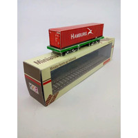 Miniatur Kereta Api Gerbong Kontainer HAMBURG 40 ft