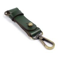 Gantungan Kunci Kulit Sapi Asli Keychain Snap hook Key holder GK-H03