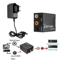 CONVERTER AUDIO DIGITAL TO ANALOG (OPTICAL / COAXIAL / SPDIF TO RCA)