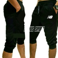 CELANA JOGGER PANTS PENDEK NEW BALANCE TRAINING GYM LATIHAN OLAHRAGA