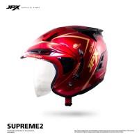 JPX Supreme2 Solid Red Scarlet / Gold size L