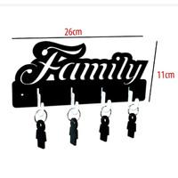 Gantungan Kunci Set Sama Gantungan Motif FAMILY