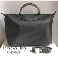 Tas Longchamp neo grey large