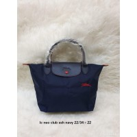 Tas longchamp club msh navy & pink