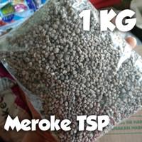 Pupuk Meroke TSP P2O5 46% repacking 1 kg