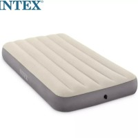 grosir kasur angin intex single twin fiber murah / bestway king kasur