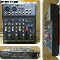 Mixer 4ch original betavo f4