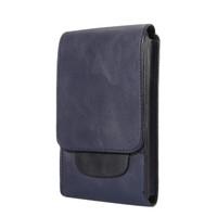 Sarung HP Dompet Tas Tempat Pinggang 2 HP Dengan Slot Kartu 6,5 Inch - Biru