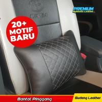 Bantal Pinggang / Bantal Mobil Kulit Sintetis