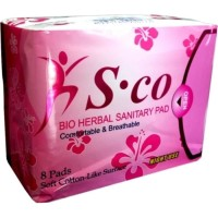 Sco Night Use/ Sco Merah/ Pembalut Herbal/ Alternatif Avail/ SCO