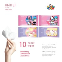 UNITEI ANTI BACTERIAL WIPES ISI 10 SHEET / WET TISSUE