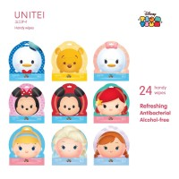 UNITEI ANTI BACTERIAL WIPES ISI 24 SHEET / WET TISSUE