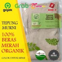 500gr Tepung Organik Beras Merah / MPASI / GASOL