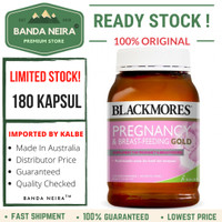Blackmores Pregnancy & Breastfeeding Gold 180 Kapsul