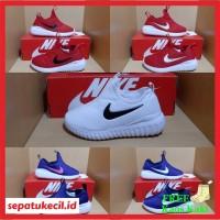 Sepatu Anak Nike Slip On Merah Biru Size 31-35 Grade Ori Vietnam