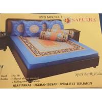 Saputra Sprei Batik 180x200 Full Katun Motif 50 / Seprai No 1