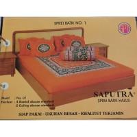 Saputra Sprei Batik 180x200 Full Katun Motif 07 / Seprai No 1