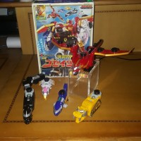Bandai DX Gosei Great from Tensou Sentai Goseiger