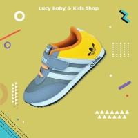 Sepatu Sneakers Anak Laki Perempuan Cowok Cewek SD TK Ukuran 24-37