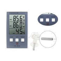 Thermometer Hygrometer IndoorOutdoor Digital LCD CX-201A