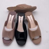 Sandal Selop Hak wedges Jelly Balance 707-1A fashion Wanita