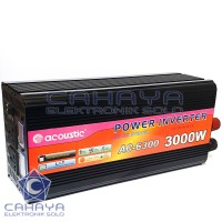 Inverter Sinus 3000w 12V + Charger Acoustic Accu aki Batere PSW Sine
