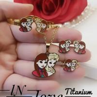 titanium set perhiasan anak 27m13
