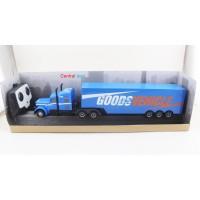rc truck trailer 2.4ghz GM1901 biru mainan remote control truk