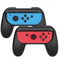 Controller Grip Nintendo Switch JoyCon Handle Kit 2pcs - Biru-Merah