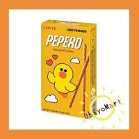 Pepero choco filled / biskuit stik isi cokelat/ snack ringan 50g