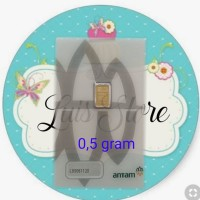 Logam Mulia LM Emas ANTAM 0,5 0.5 gram CERTIEYE