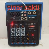 mixer audio ashley speed up4 4ch usb-bluetooth original