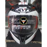 Helm KYT K2 Rider Diamond White
